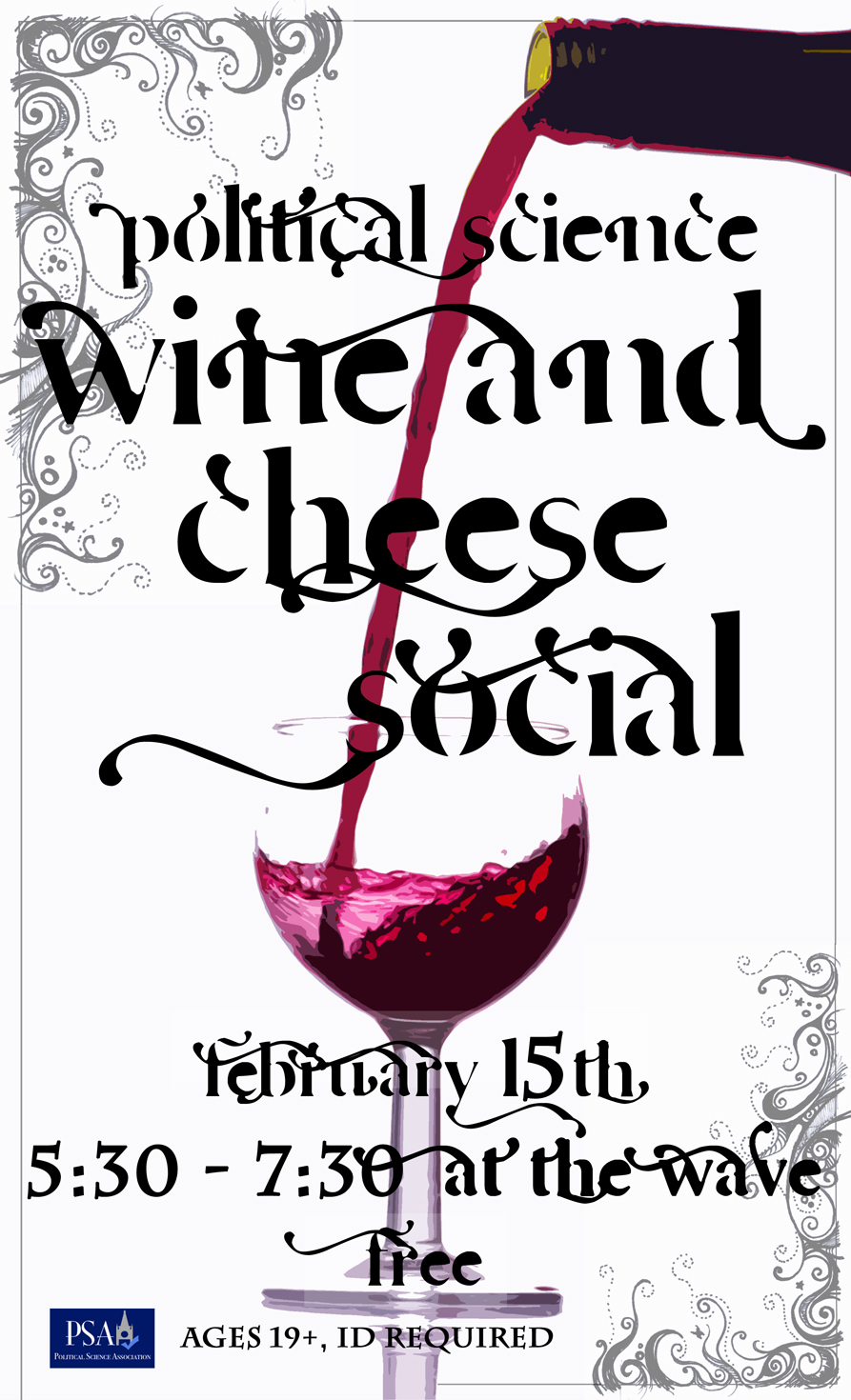 wine and cheese social